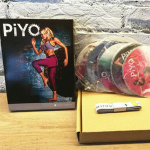 PiYo Workouts Deluxe full Set 5DVDs NEW